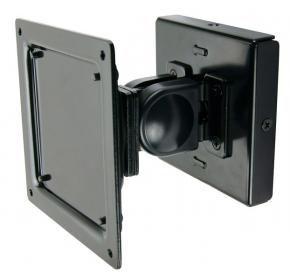 Newstar FPMA-W100 LCD wandsteun [10kg, 10inch - 30inch, 75 x 75 mm, 100 x 100 mm, 0 - 180°, Zwart]