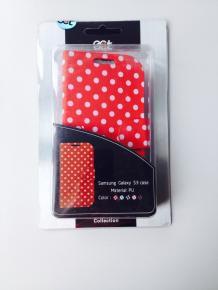 Ecat ECCLTS303R Samsung Galaxy S3 Case Red/White