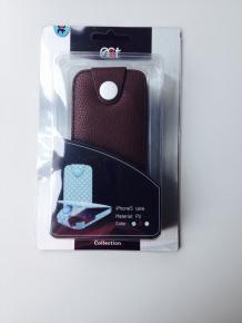 Ecat ECCLTIP501C iPhone 5 Case Brown