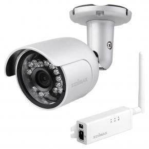 Edimax IC-9110W hd wi-fi mini outdoor network camera [139o wide angle view day & night]