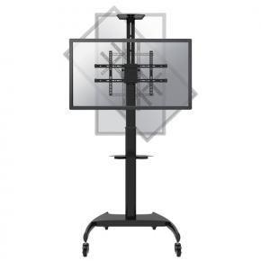 Newstar PLASMA-M1900E Flat-screen floor stand [1x 37 - 70 inch, 50 kg , 130 - 162cm, 200x200/ 600x400mm]