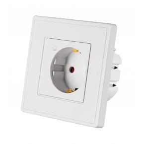 WOOX R4054 Smart inbouw stopcontact powered by TUYA [16A, 3680W, Wi-Fi, White]