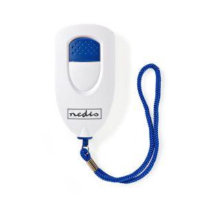 Persoonlijk veiligheidsalarm | Lichtgewicht | ≥ 85dB-alarm | Wit