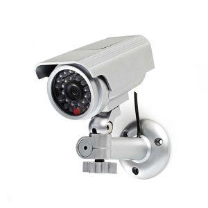 Dummy beveiligingscamera   Bullet   IP44   Zilver