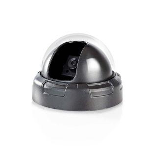 Dummy beveiligingscamera | Dome | Zwart