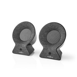 Bluetooth®-Speaker | Batterij speelduur: Tot 4 Uur | Tafelmodel | 30 W | Stereo | Koppelbaar | Zwart/Antraciet