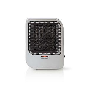 Keramische ventilatorkachel 750 en 1500 W Grijs