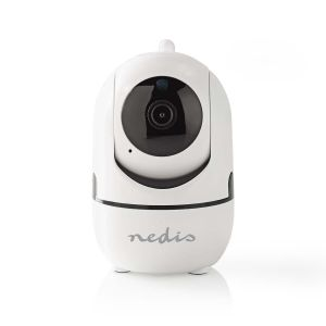 IP-beveiligingscamera | 1920 x 1080 | Zwenken en kantelen | Autotracking van beweging | Wit