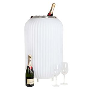 The.Lampion L - Multicolor lamp & Wijnkoeler & Bluetooth Speaker , lampion vorm, zeer Luxe luidspreker