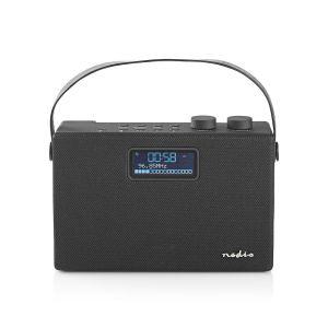 "DAB+ Radio Tafelmodel | DAB+ / FM | 2.8 "" | Zwart-Wit Scherm | Batterij Gevoed / Netvoeding | Digitaal | 15 W | Bluetooth® | Koptelefoonoutput | Handgreep | Zwart"