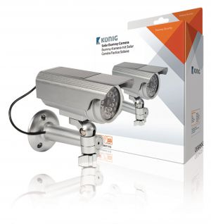Bullet Dummy Camera IP44 Zilver