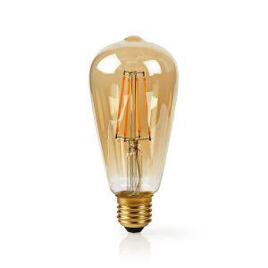 Wi-Fi Smart LED Filament Lamp   E27   ST64   5 W   500 lm