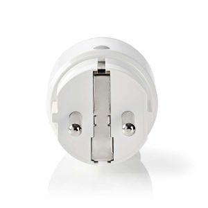 SmartLife Smart Stekker   Wi-Fi   Energie verbruiksmeter   2500 W   Schuko / Type-F (CEE 7/7)   -10 - 40 °C   Android™ & iOS   Wit