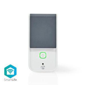 WI_FI buiten Stekker / Stopcontact IP44   Krachtmeter   3680 W   Schuko / Type-F (CEE 7/7)   -30 - 40 °C   Android & iOS   Wi-Fi   Wit/Grijs