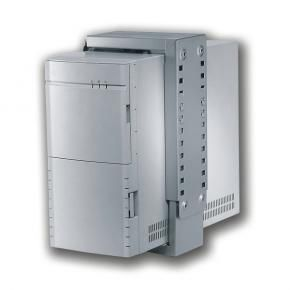 Newstar CPU-D100WHITE PC/ Thin-client bureau-steun [30kg, 30 - 53 cm, 8 - 22cm, wit]