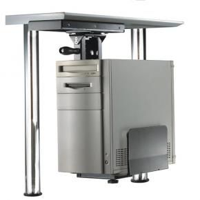 Newstar CPU-D250SILVER PC bureau-steun [30kg, 39 - 54cm, 13 - 23cm, zilver]