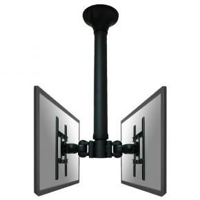 Newstar FPMA-C200D LCD plafondsteun [40kg, 10 inch - 40 inch, 75x75 mm, 200x200 mm, 640 - 1040 mm, Zwart]