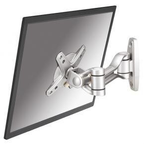 Newstar FPMA-W1020 LCD wandsteun [10 kg, 10 inch - 30 inch, 75x75 mm,  100 x 100 mm, 0 - 180°, Zilver]