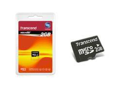 Transcend TS2GUSDC micro SD [2GB  no box & adapter]