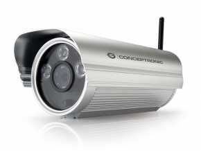 Conceptronic CIPCAM720ODWDR Wireless Network Cloud Outdoor Camera [RJ45, 1.3MP, F=3.6mm,F=2.0, WDR]