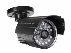Conceptronic CFCAMOIR Outdoor Dummy Camera w/ IR LEDs [Bullet, Indoor & outdoor, IP44, Black]