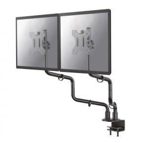 Newstar FPMA-D010DBLACK flat screen desk mount (Clamp) [1x 7 kg 10 - 30 inch inch, 100x100mm, Black]