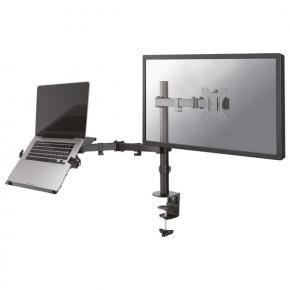 Newstar FPMA-D550NOTEBOOK Flat screen and notebook desk mount [Clamp, 1x 8kg, 10 - 32 inch, 100x100mm]