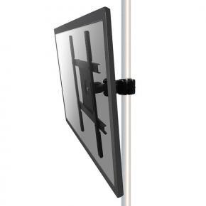 Newstar FPMA-WP440BLACK, TV, [1x 25kg, 23 - 52 inch inch, 75x75/ 400x400 mm, Pole, Black]