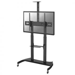 Newstar PLASMA-M1950E Flat-screen floor stand ]1x 60 - 100 inch, 100kg, 134-166 cm, 400x400/ 1000x600mm]