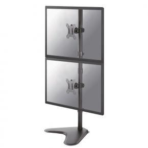 Newstar FPMA-D550DDVBLACK Full Motion dUal desk mount [2x 10 - 32 inch, 16kg, 91 cm, 75x75/ 100x100mm]