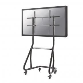 Newstar NS-M3800BLACK Flat screen TV floor stand [1x 100 kg, 60 - 100 inch, 400x400/ 1000x600 mm, Black]