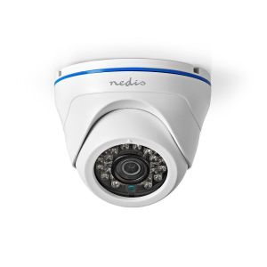 CCTV Beveiligingscamera   Dome   Full HD   Ondersteunt AHD / TVI / CVI en Analoog