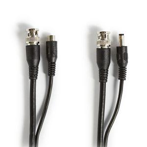 CCTV-beveiligingskabel BNC / DC   RG59   20 m   Voorgemonteerde connectoren
