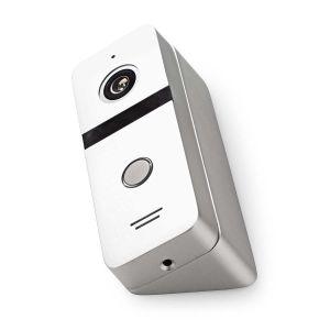 Deurvideocamera | Hoek van 110° | IR-Nachtzicht | IP66 | Metaal