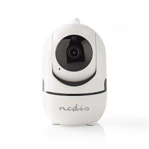 IP-beveiligingscamera   1920 x 1080   Zwenken en kantelen   Autotracking van beweging   Wit