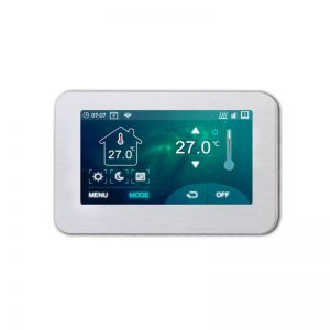 Optima Wifi thermostaat met kleurenscherm W FC inbouw klokthermostaat met kleuren touchscreen Tuya compatible