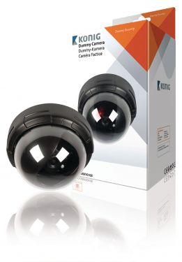 Dome Dummy Camera IP44 Zwart