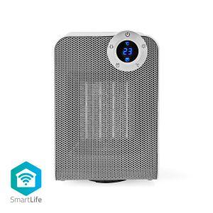 Slimme Ventilatorverwarming met Wi-Fi | Compact | Thermostaat | Oscillatie | 1800 W | Wit