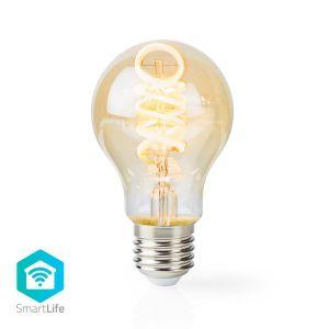 Wi-Fi Warm tot Koel Wit LED Filamentlamp | Gedraaid | E27 | A60 | 5,5 W | 350 lm