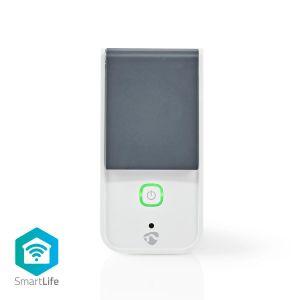 Wi-Fi Smart Stekker voor Buiten | Spatwaterbestendig | IP44 | Verbruiksmonitor | Schuko Type F | 16 A